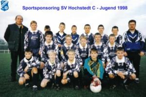 Sportsponsoring SV BW Hochstedt 1998
