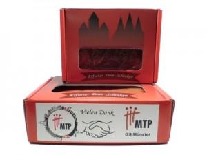 Firmenschinken für den Marketingverein MTP - Marketing zwischen Theorie und Praxis e.V.