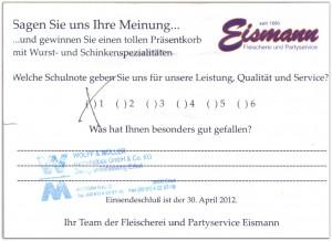 Erfahrungsbericht zu unserem Catering in Erfurt