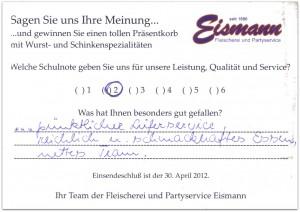 Erfahrungsbericht zu unserem Partyservice in Erfurt